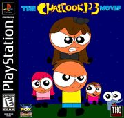 The ChaeCook123 Movie PS1 cover NTSC
