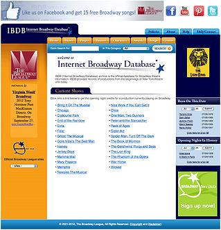 Internet Broadway Database Image