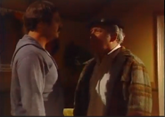 AITF 8x10 - Archie and Mike argue during blackout