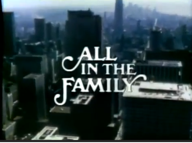Image result for tv show all in the family