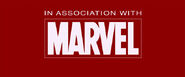 In Association with Marvel logo