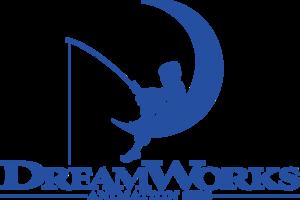 DreamWorks Animation SKG logo with fishing boy-0