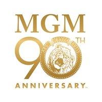 MGM 90th GoldLogo. V363879222