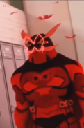 Scarlet Dark Owl