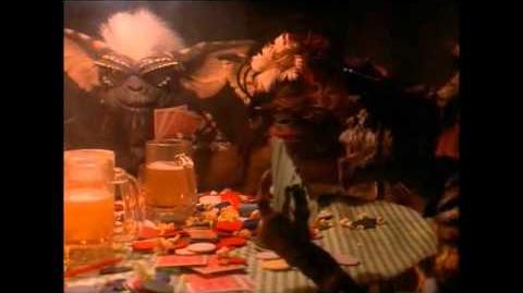 Gremlins .......The Gremlins Take-over Dorry's Tavern (Full Scene )
