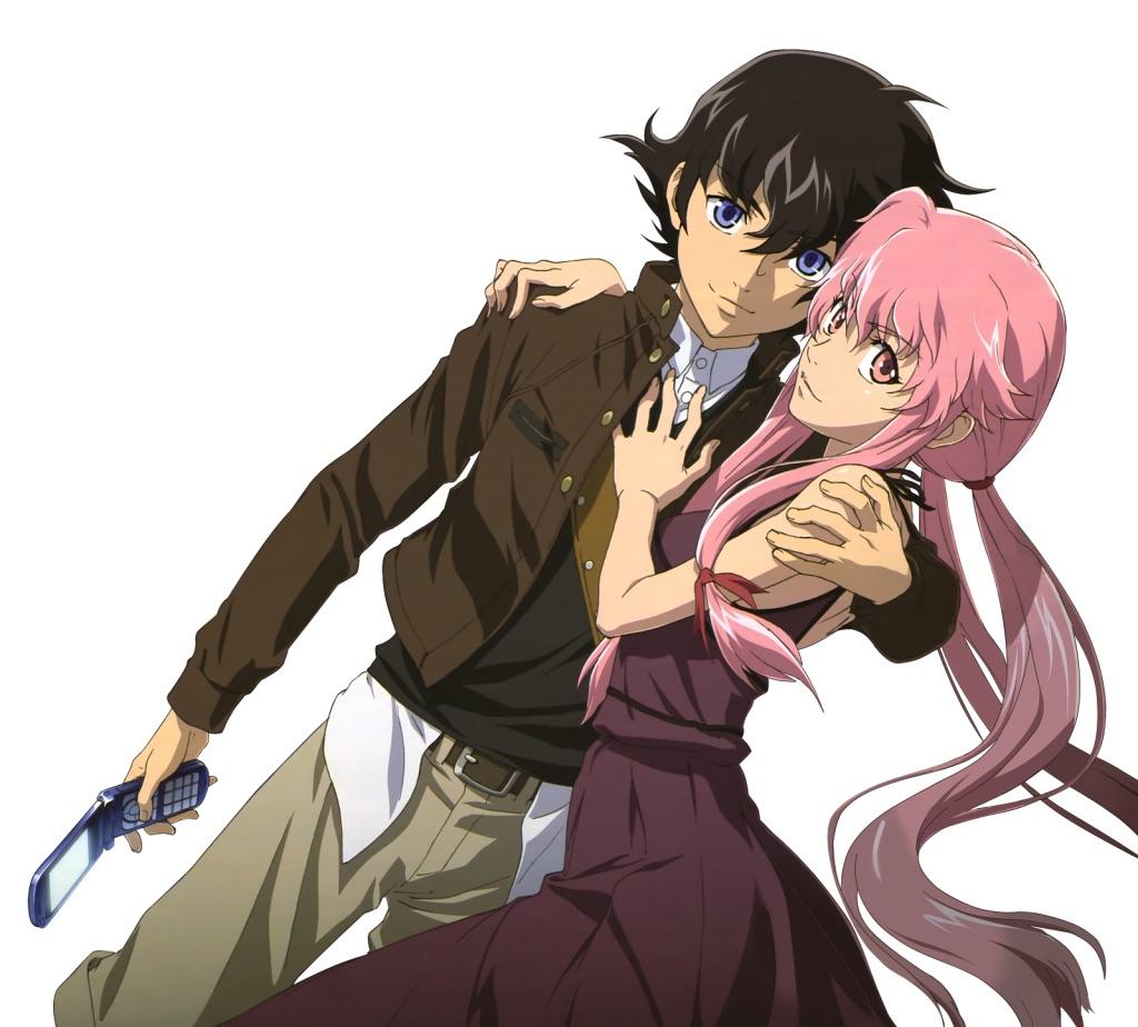 Yukiteru and Yuno Amano | All of the bloodriver famliy ...