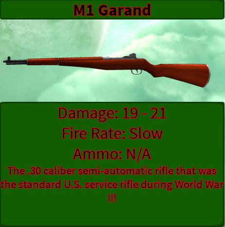 M1 Garand | ALL OUT ZOMBIES Wiki | FANDOM powered by Wikia