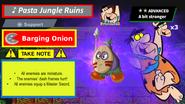 Barging Onion Spirit