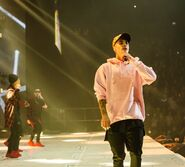 Jingle Bell Ball 2015 performance with sweater