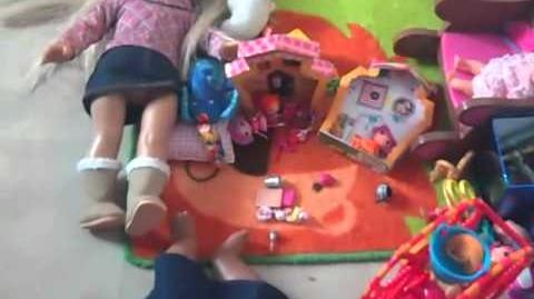 Bitty Twins Play with Toys
