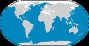 Blue whale range
