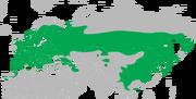 Dendrocopos major distribution