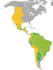 Puma (genus) range