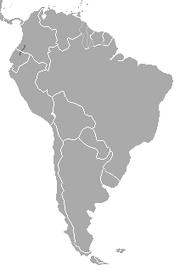 Colombian Weasel range