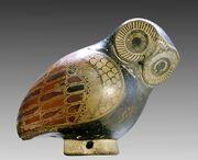 Aryballos owl Louvre CA1737
