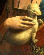 Léonard de Vinci - Dame à l'