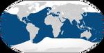 Common bottlenose dolphin range