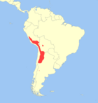 Andean Mountain Cat range