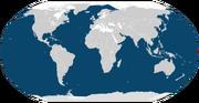 Humpback whale range