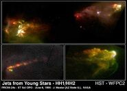 HH1 and HH2 imaged by WFPC2