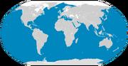 Fin whale range