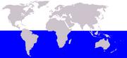 Antarctic minke whale range