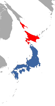Japanese Weasel range