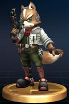 Fox - Brawl Trophy