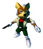 Fox 64 Sticker