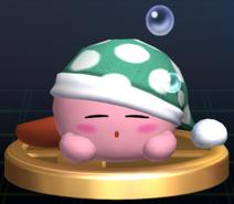 Sleep Kirby - Brawl Trophy