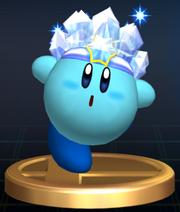 Ice Kirby - Brawl Trophy