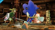 Link vs Sonic