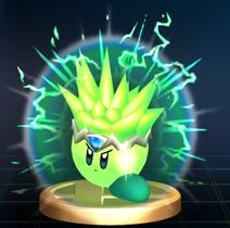 Plasma Kirby - Brawl Trophy