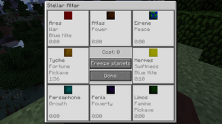 Stellar Altar GUI
