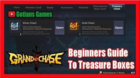 Beginners Guide to Treasure Boxes, Opening Diamond Chest! Grand Chase-0