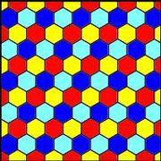 Hexagonal tiling
