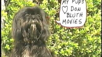 All Dogs Go To Heaven - Promotional Featurette from VHS Screener (1990)