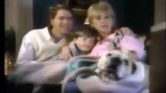 All Dogs Go to Heaven and Downy VHS Ad (1990) (windowboxed)