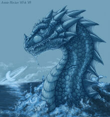 Dragon of the deep by annibal
