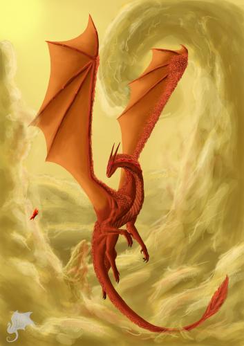 Рубиновый дракон: сокровище преисподней   Драконопедия ...