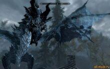 Skyrim-новая-расцветка-драконов