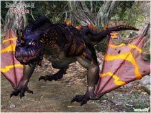 Dragon age ii wyvern model by berserker79-d7sckzt