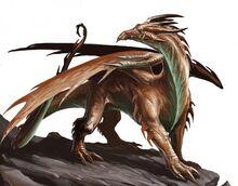 1279900080 copper dragon by benwootten