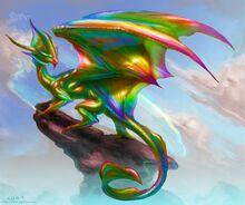 1285665015 prismatic dragon by mariecannabis