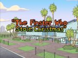 The Finster Who Stole Christmas