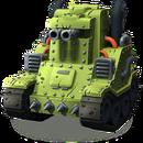 Cat unit small tank