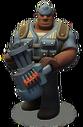 Cat unit gunner