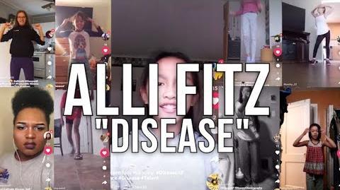 DISEASEAF CHALLENGE - Alli Fitz Disease FITZFAM video