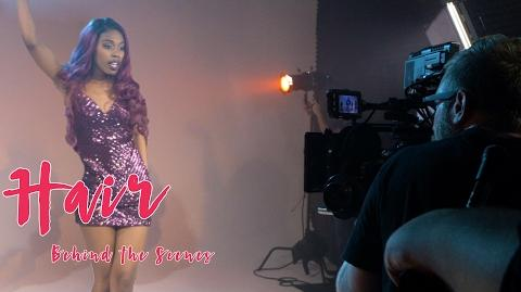 Behind the Scenes of the Hair Music Video! Alli Fitz