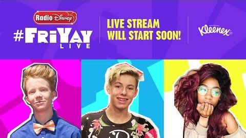 FriYAYLive with Cody Veith, Alli Fitz and Mackenzie Sol (Ep 8)